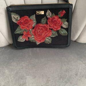 Kate spade roses wallet/clutch